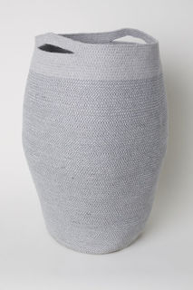 Корзина для белья из джута H&M