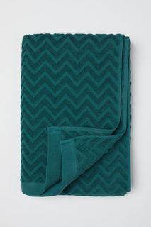 Банное жаккардовое полотенце H&M