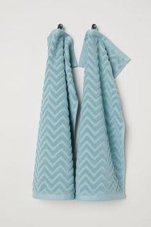 2 гостевых полотенца H&M