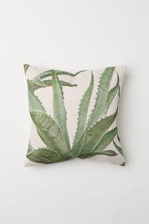 Чехол на подушку с принтом H&M
