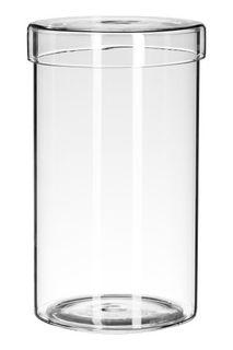 Стеклянная шкатулка с крышкой H&M