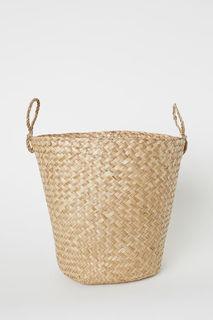 Плетеная корзина для хранения H&M