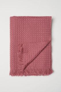 Плед из вафельной ткани H&M