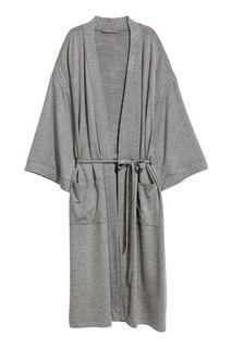 Трикотажный халат H&M
