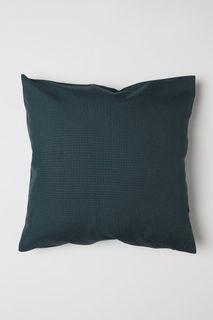 Холщовый чехол на подушку H&M