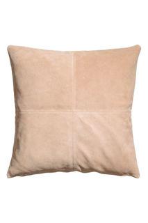 Замшевый чехол на подушку H&M