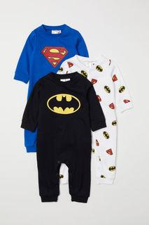 3 пижамы H&M