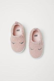 Кеды-слипоны H&M