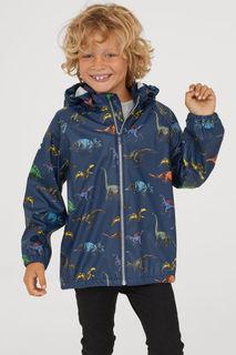 Куртка-дождевик с капюшоном H&M