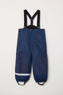 Непромокаемые брюки на лямках H&M