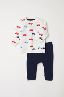 Топ и брюки H&M