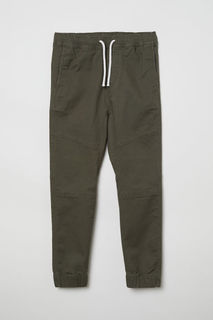 Твиловые брюки на резинке H&M