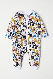 Пижама с принтом H&M