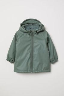 Утепленный дождевик H&M