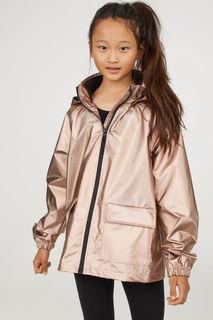 Мерцающая куртка-дождевик H&M