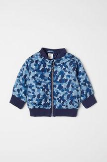 Утепленная куртка бомбер H&M