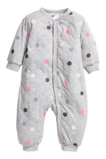 Утепленная пижама H&M
