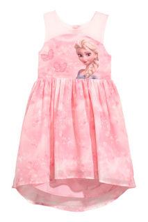 Шифоновое платье с принтом H&M