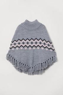 Вязаное пончо H&M
