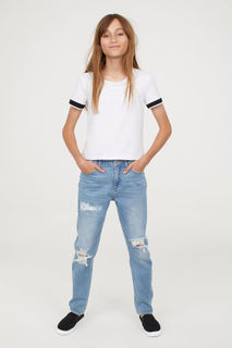 Джинсы Relaxed Tapered Fit H&M