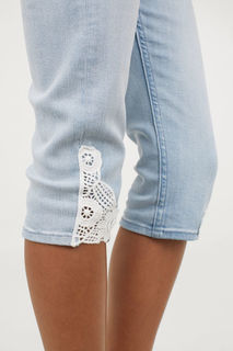 Джинсы Capri Skinny Fit H&M