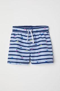 Плавки-шорты с рисунком H&M