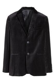 Бархатный пиджак Slim fit H&M