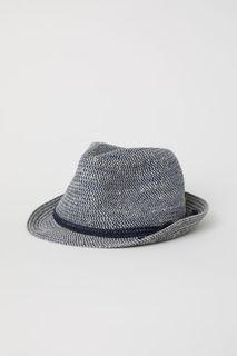 Соломенная шляпа из джута H&M