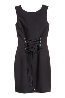 Платье со шнуровкой H&M