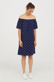 Хлопковое платье H&M