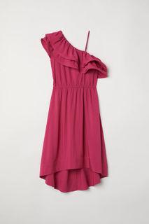 Платье с открытым плечом H&M