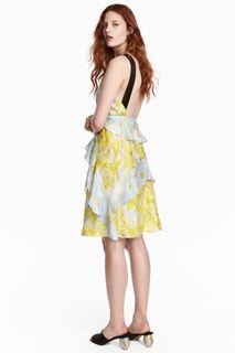 Платье из шелкового шифона H&M