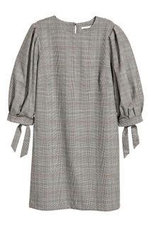 Платье с пышным рукавом H&M