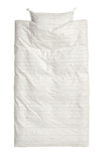 Постельное белье с рисунком H&M
