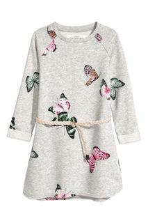 Байковое платье H&M
