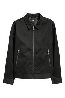 Хлопковая куртка-рубашка H&M