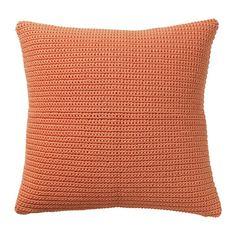 СЁТХОЛЬМЕН Чехол на подушку, д/дома/улицы, оранжевый Ikea