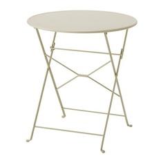 САЛЬТХОЛЬМЕН Садовый стол, складной бежевый Ikea