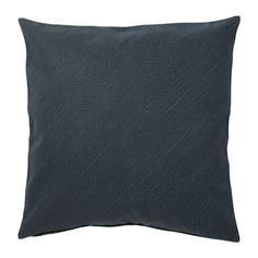 ЮППЕРЛИГ Чехол на подушку, темно-синий, в полоску Ikea