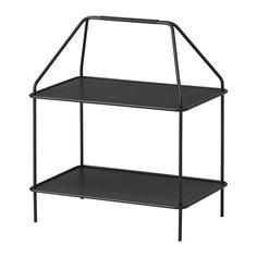 ЮППЕРЛИГ Подставка для журналов, темно-серый Ikea