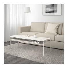 НИБОДА Журнальный стол/2-сторон столешница, белый/серый Ikea