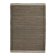 ХОЭТ Ковер безворсовый, коричневый Ikea