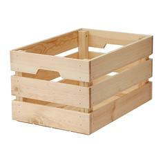 КНАГГЛИГ Ящик, сосна Ikea