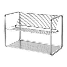 ОРДНИНГ Сушилка посудная, нержавеющ сталь Ikea