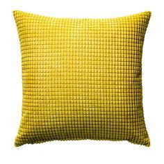 ГУЛЛЬКЛОКА Чехол на подушку, желтый Ikea