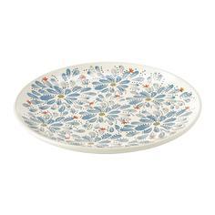 ФИНСТИЛТ Тарелка десертная, с рисунком Ikea