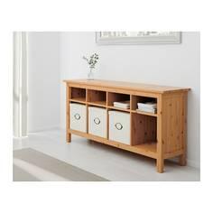 ХЕМНЭС Консольный стол, светло-коричневый Ikea