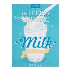 ЭДЕЛВИК Набор постеров,2шт, Organic milk, Bakery 2 Ikea