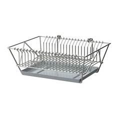 ФИНТОРП Сушилка посудная, никелированный Ikea