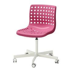СКОЛБЕРГ / СПОРРЕН Рабочий стул, розовый, белый Ikea